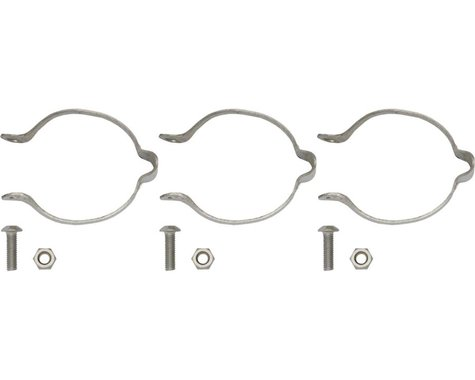 Problem Solvers 25.4 Stainless Clamp-on Cable Guides Set/3