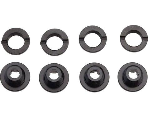 Race Face Chainring Bolt/Nut Pack (Aluminum) (Torx) (Single/Double Ring Set)