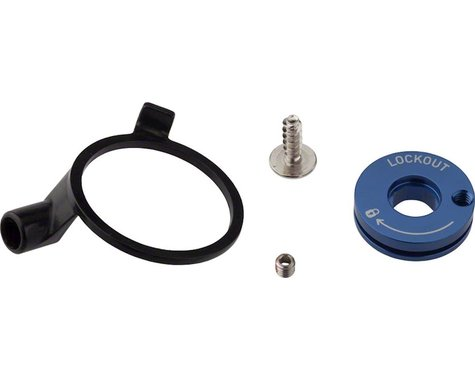 RockShox Remote Spool & Cable Clamp Kit (XC32/Recon Silver)
