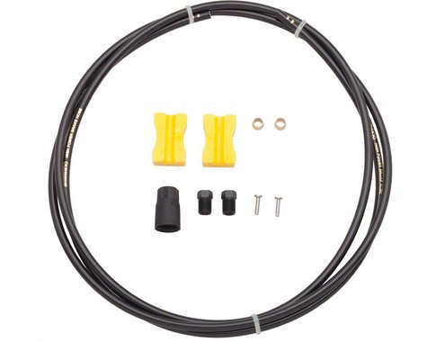 Shimano BH90-SS Hydraulic Disc Brake Hose Kit (Black) (1700mm) (Deore M615)