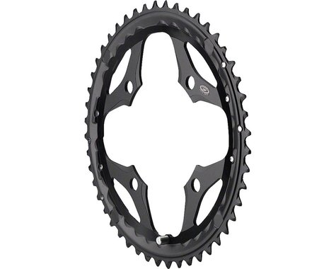 Shimano SLX M660 Outer Chainring (Black) (104mm BCD) (Offset N/A) (48T)