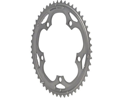Shimano 105 5703-S Triple Outer Chainring (Silver) (130mm BCD) (Offset N/A) (50T)