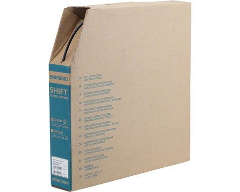 Shimano SP41 Derailleur Housing Box (Black) (4mm x 50 Meters)