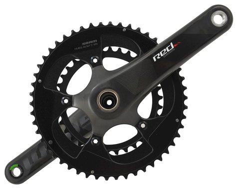 SRAM Red Compact Crankset (Black) (2 x 11 Speed) (GXP Spindle) (C2) (172.5mm) (50/34T)