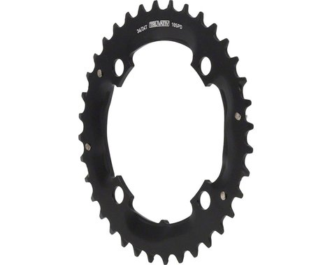 SRAM SRAM/Truvativ 10 Speed Chainring for Specialized Crankset (104mm BCD) (Offset N/A) (36T)