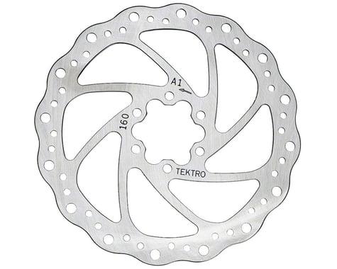 Tektro Wavy Type Disc Brake Rotor (6-Bolt) (1) (160mm)