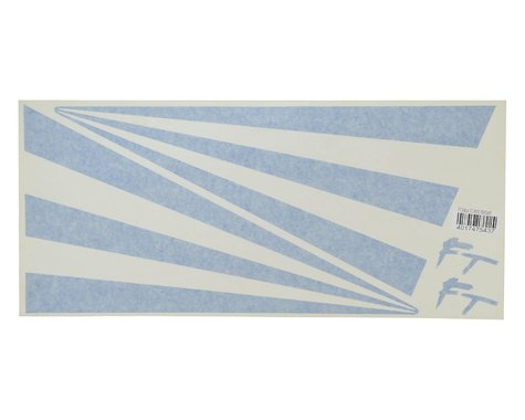 "Flite Test 20"" Decal Star-Bursts (Blue)"