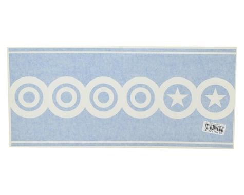 "Flite Test 20"" Decal Scallops (Blue)"