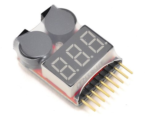 Team Integy LiPo Voltage Checker w/Warning Alarm