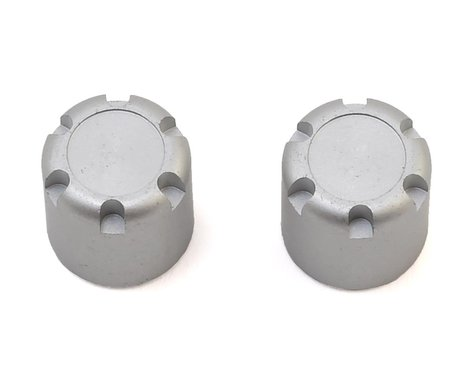 SSD RC Scale Hubs (Silver) (2)